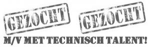 logo gezocht m-v met technisch talent