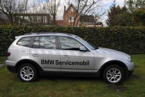 BMW X3 Servicemobil 1